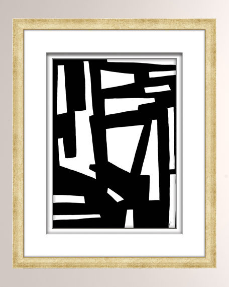 William D Scott Black/White Abstract Art - 4