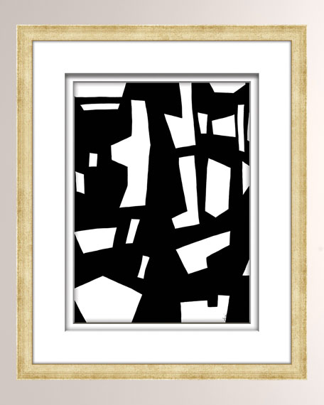 William D Scott Black/White Abstract Art - 6