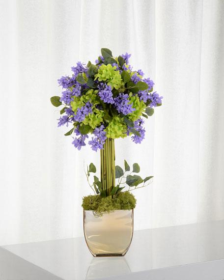 John-Richard Collection Lilac at Sunset Floral Arrangement