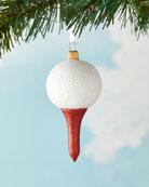 Exclusive Golf Ball Christmas Ornament