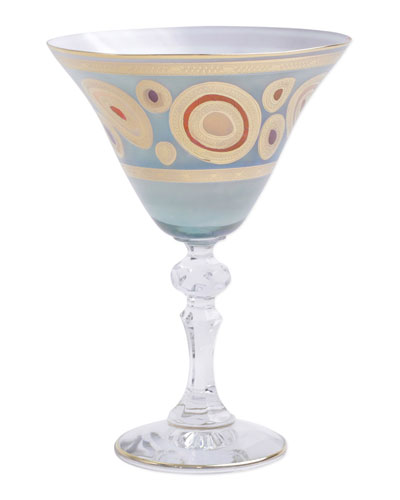Regalia Aqua Martini Glass