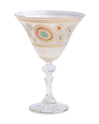 Regalia Cream Martini Glass