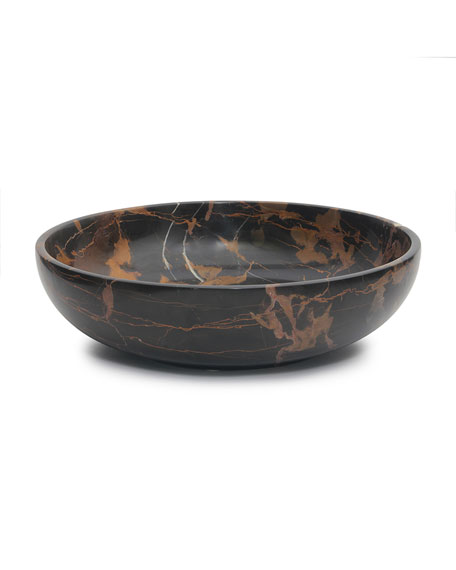 """Marble Crafter 16"""" Laurus Collection Marble Bowl"""