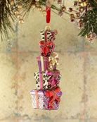 Exclusive Present Stack Christmas Ornament