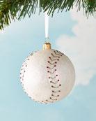 Exclusive Baseball Christmas Ornament