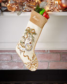Peking Handicraft Ornaments Needlepoint Stocking