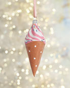 Exclusive Ice Cream Cone Christmas Ornament