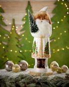 Ino Schaller Santa with Christmas Tree