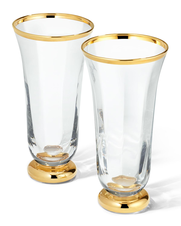 Aerin SOPHIA DRINKING FLUTES, SET OF 2