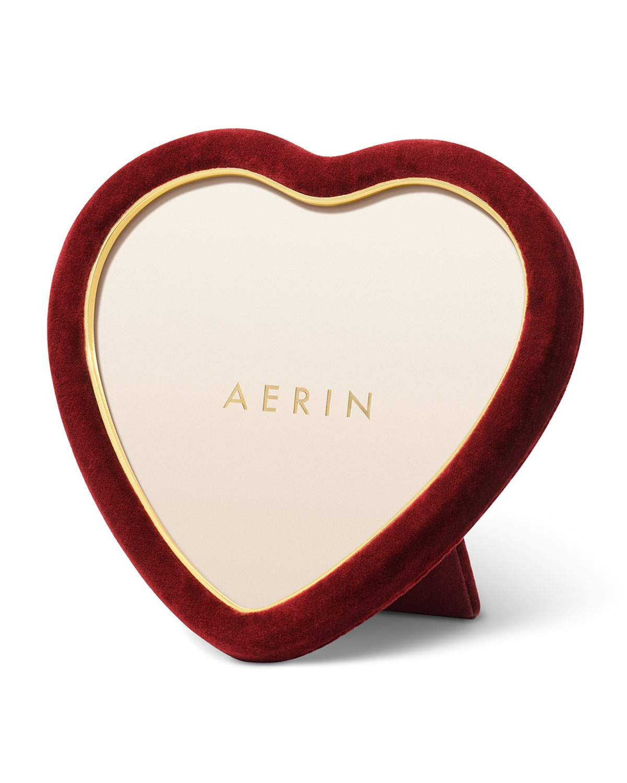 Aerin VALENTINA VELVET HEART FRAME