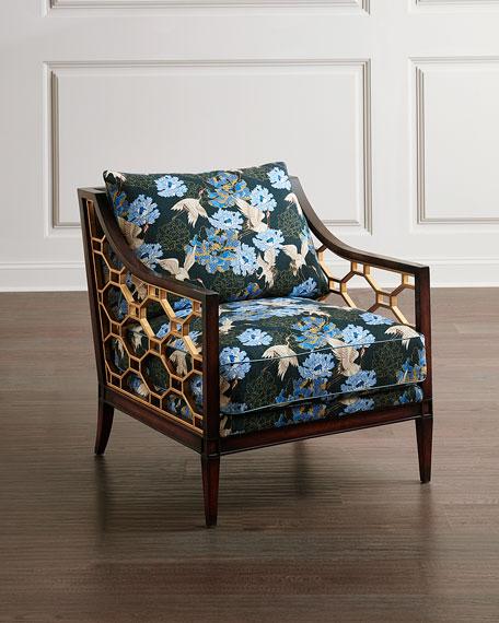 John-Richard Collection Belden Place Lounge Chair