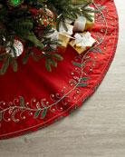 Kim Seybert Holiday Charm Tree Skirt