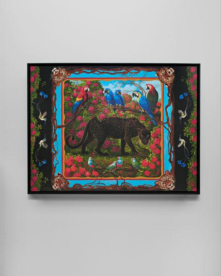 "Yana Movchan ""Black Panther"" Giclee Art"