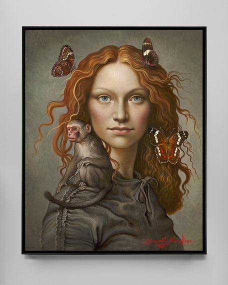 "Yana Movchan ""Embrace"" Giclee Canvas Art"