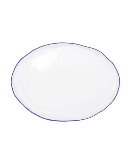 Vietri Aurora Edge Large Oval Platter