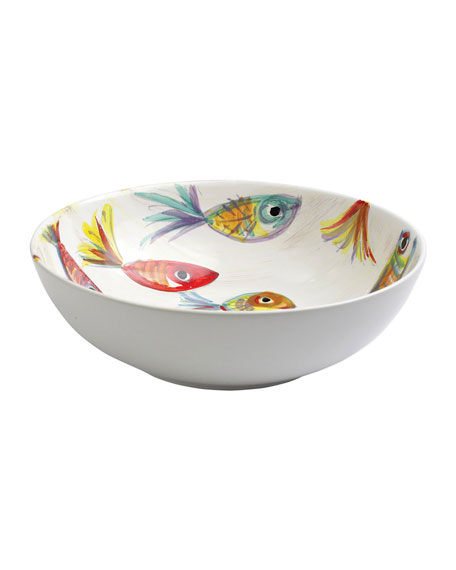 Vietri Pesci Colorati Deep Bowl