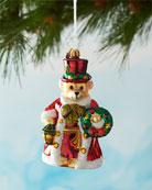 Christopher Radko A Beary Good Guide Christmas Ornament