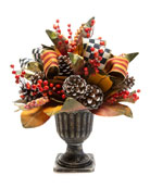 MacKenzie-Childs Harvest Arrangement
