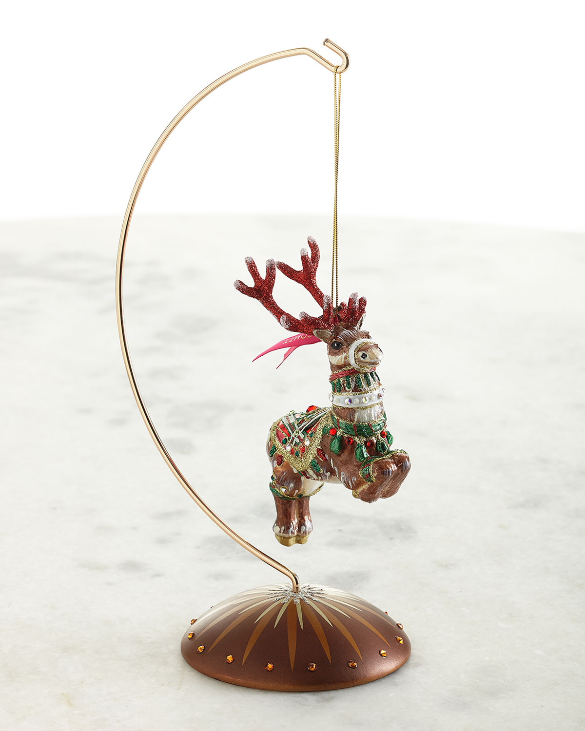 Jay Strongwater LARGE ORNAMENT STAND