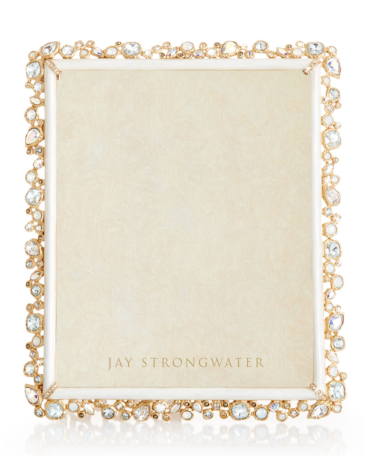 """Jay Strongwater BEJEWELED FRAME, 8"""" X 10"""""""