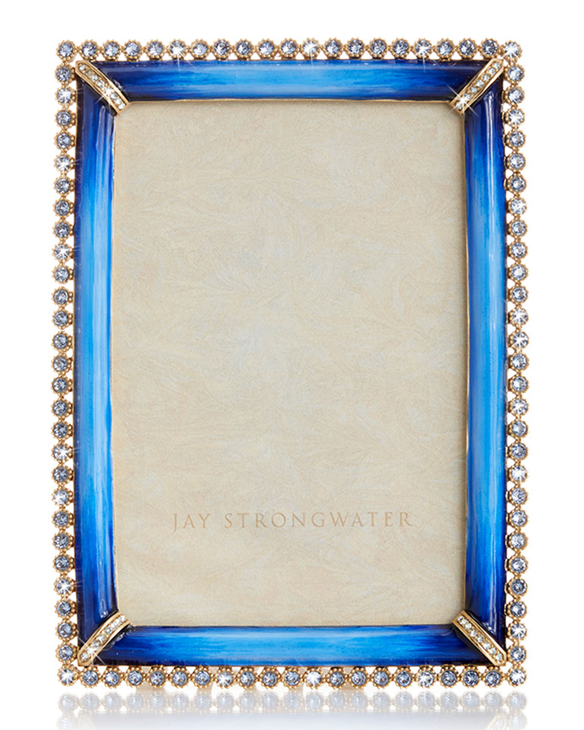 "Jay Strongwater STONE EDGE FRAME, 4"" X 6"""