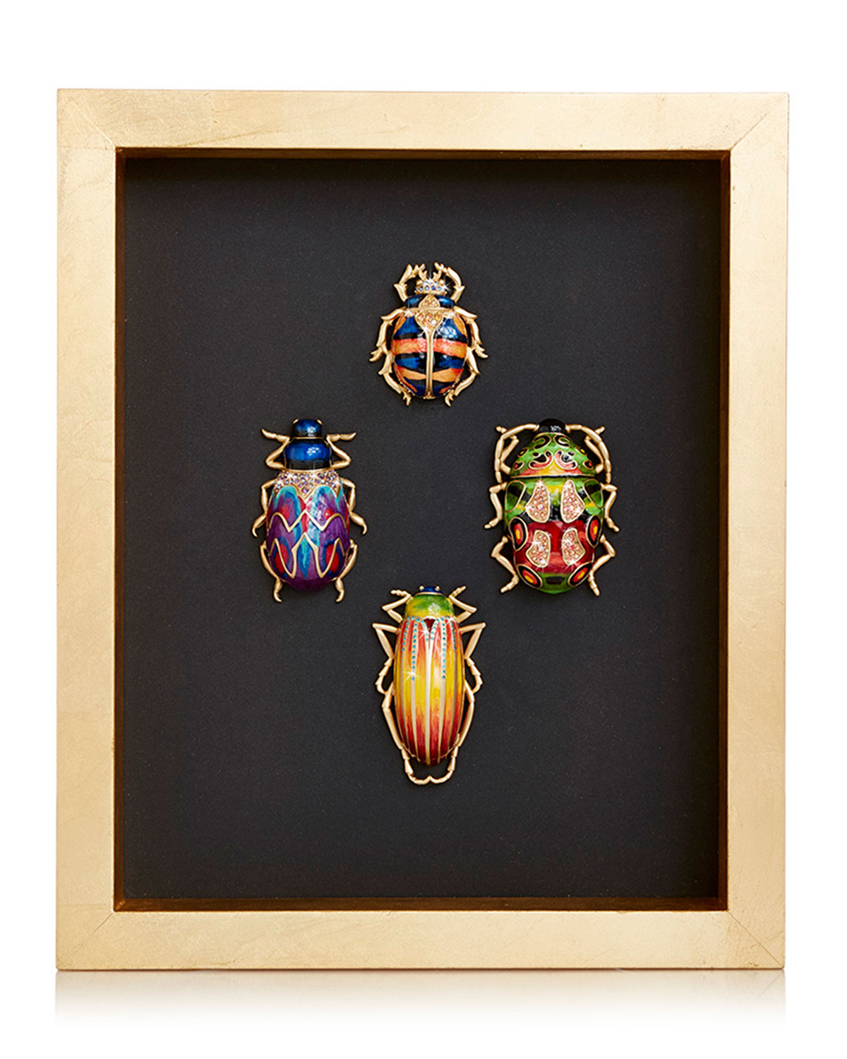 Jay Strongwater BEETLE WALL ART