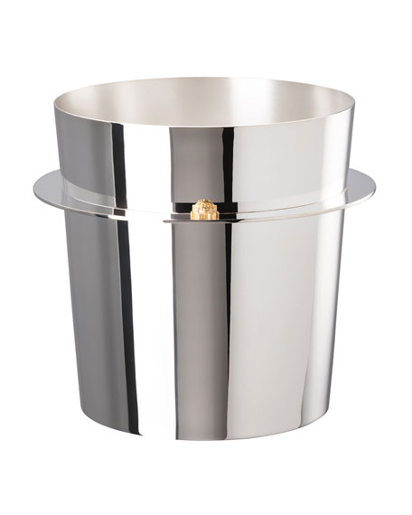 Versace Silver Plate Champagne Bucket
