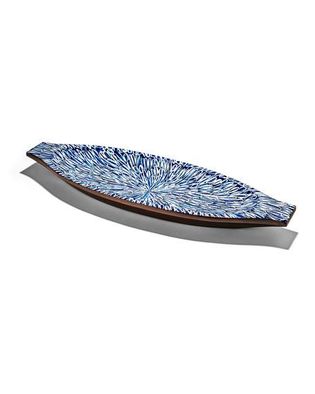 LADORADA Bone Inlay Centerpiece
