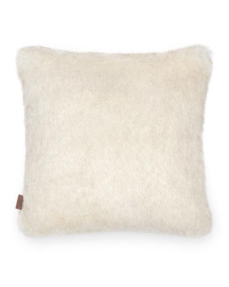 "UGG Firn Faux Fur Pillow, 24""Sq."