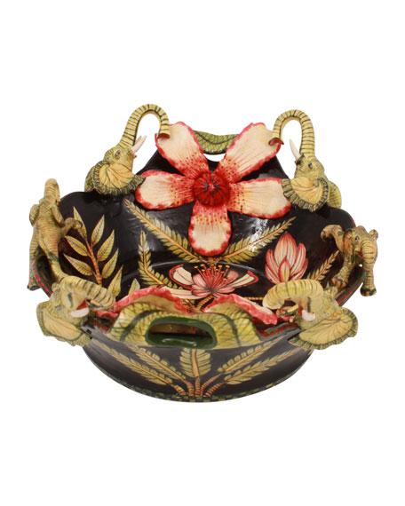 Ardmore Ceramic Art Elephant Bowl