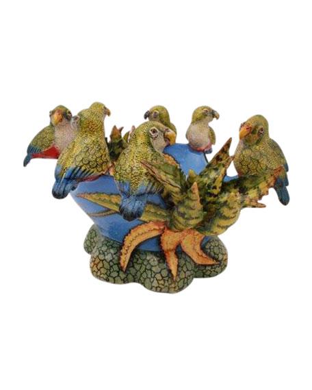 Ardmore Ceramic Art Parrot Bowl