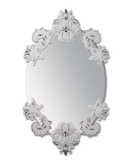 Lladro Oval Wall Mirror