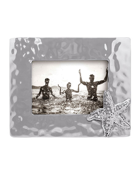 """Mariposa Starfish Shimmer Picture Frame, 5"""" x 7"""""""
