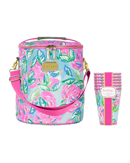Lilly Pulitzer Totally Blossom Beach Day Set