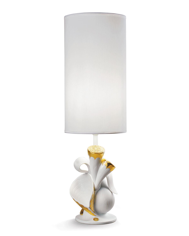 Lladrò Lighting & lamps NATUROFANTASTIC LIVING NATURE TABLE LAMP