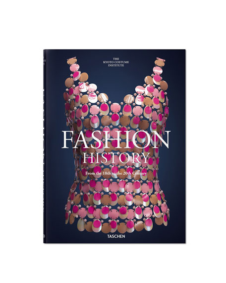 """Taschen """"Fashion History From the 18th to the 20th Century"""" Book"""