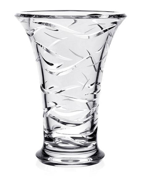 """William Yeoward Oceania 10"""" Vase"""