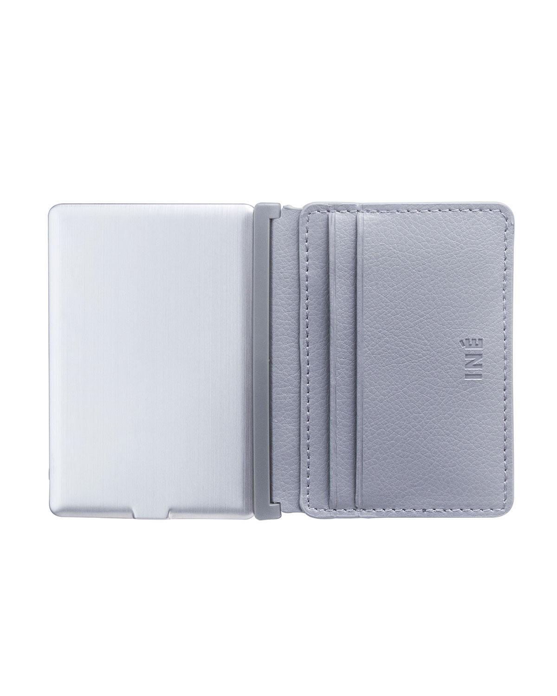 5-Slot Credit Card Wallet & Power Bank
