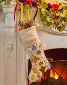 Jan Barboglio Bota de Navidad Stocking
