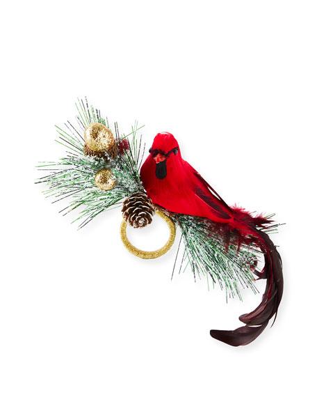 Kim Seybert Holiday Cardinal Napkin Ring