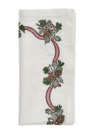 Kim Seybert Holiday Bough Napkin and Matching Items