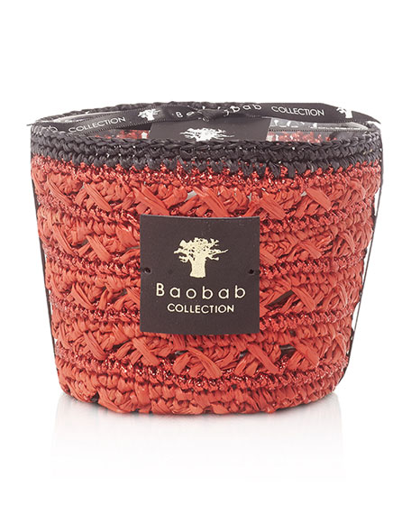 """Baobab Collection Max 10 Foty 4"""" Candle"""