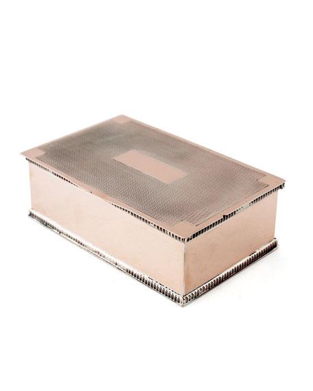 Coppermill Kitchen English Cigarette Box (Mid 19th Century)