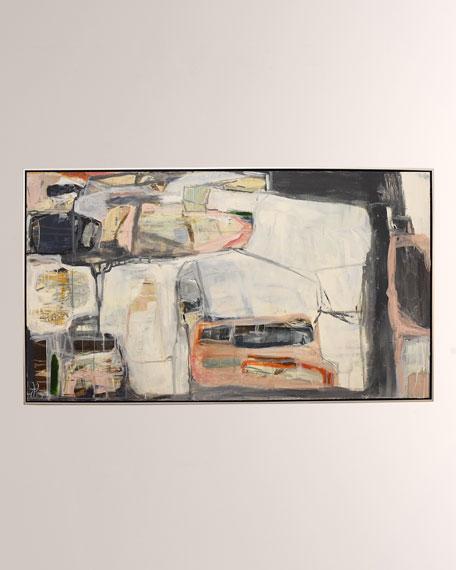 "Jill Pumpelly Fine Art ""Hearts Break and Mend"" Giclee Art"