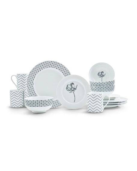 Spode Stella 16-Piece Dinnerware Set