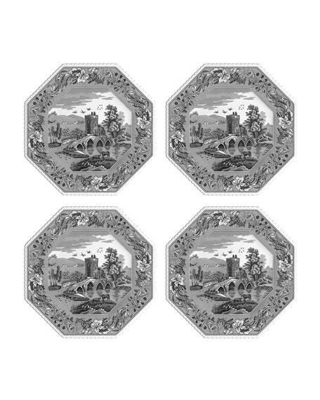 Spode Heritage Lucano Octagonal Plates, Set of 4