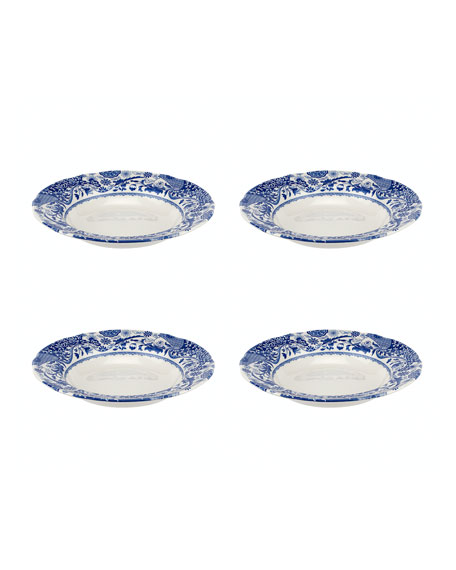Spode Brocato Soup Plates, Set of 4