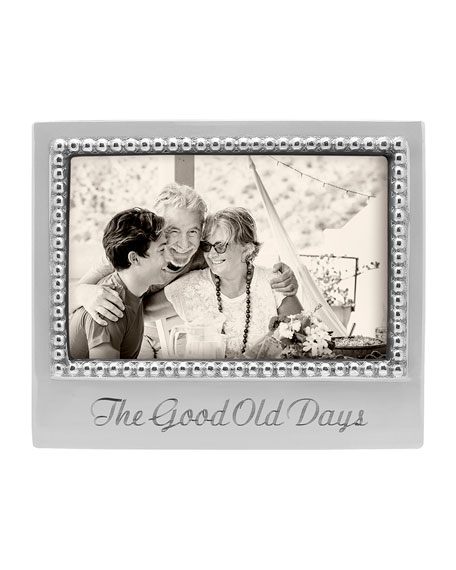 """Mariposa The Good Old Days Beaded Statement Frame, 4"""" x 6"""""""