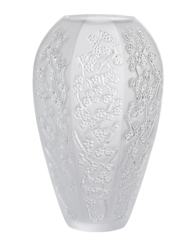 Lalique Clothing LARGE SAKURA VASE