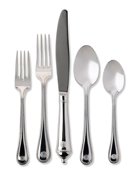 Juliska 5-Piece Polished Berry & Thread Flatware Set